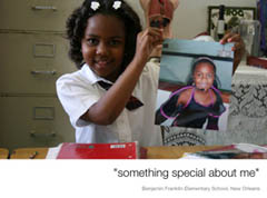 I Am, Something Special About Me, and My Picture, 2008, Benjamin Franklin Elementary School, New Orleans, LA