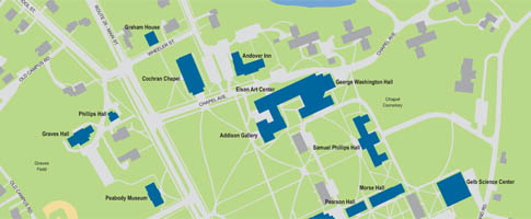 Phillips Exeter Academy Campus Map.Phillips Academy Directions And Parking